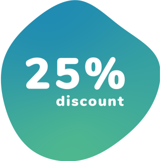 25% discount on a combi subscription